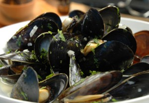 Mussels in Cream