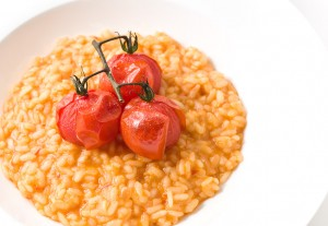 Roasted Cherry Tomato Risotto