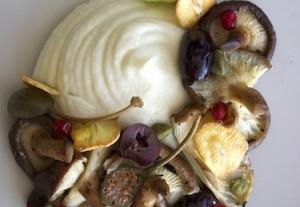 Celeriac Mash with Wild Mushrooms