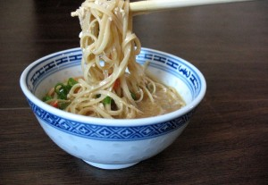 Noodle Egg Drop Soup