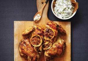 Garlicky Greek Chicken & Zippy Dill Tzatziki