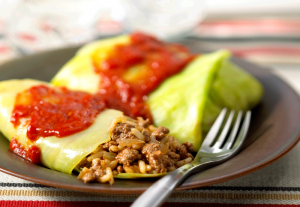 Beefy Cabbage Roll Casserole