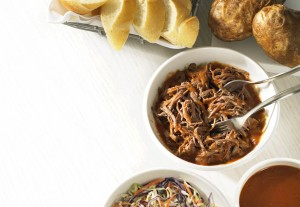Slow-Cooker South-Western Pulled Beef
