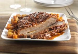 Slow Cooker Spiced Beef Brisket