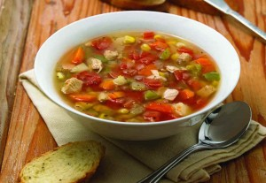 Eight-Vegetable Soup with Chicken