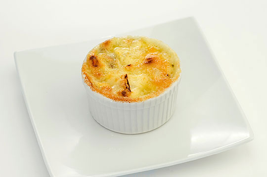 Mushroom Gratin with Camembert