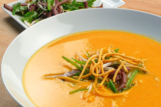 West Coast Ginger Carrot Soup
