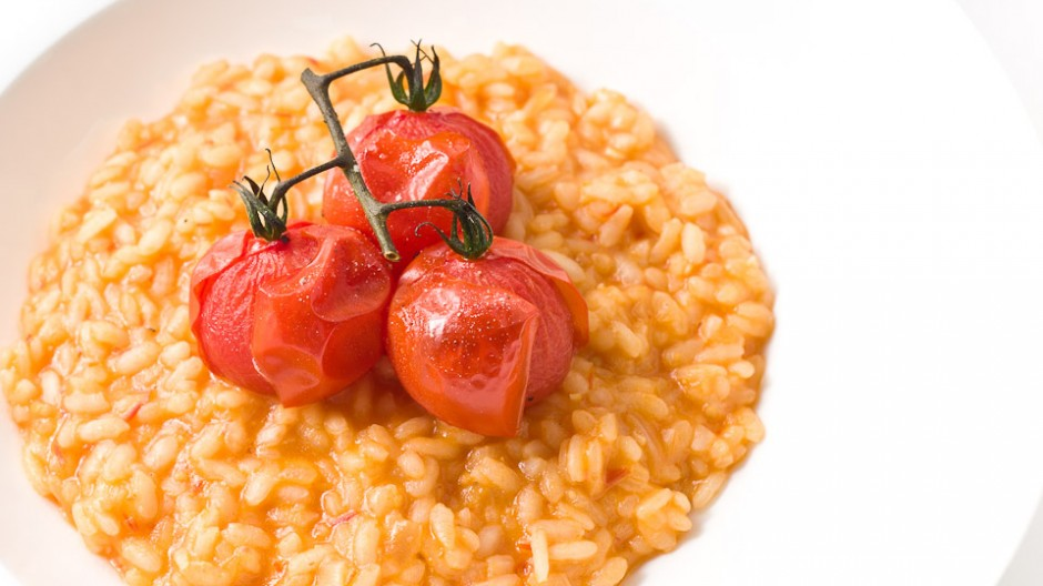 Roasted Cherry Tomato Risotto