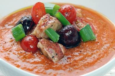 Tomato Pepper Gazpacho