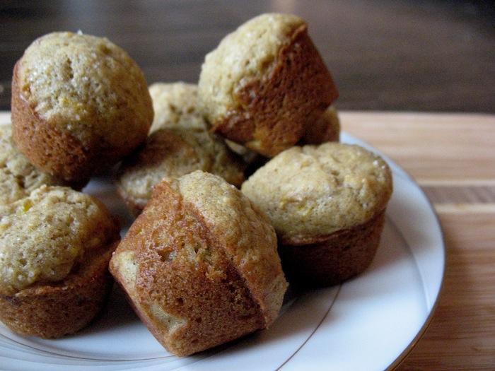 Butternut Squash Mini Muffins