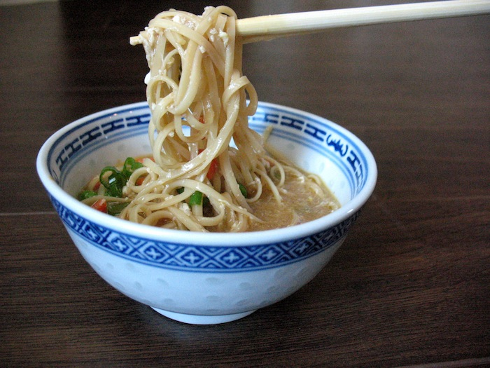 Noodle Egg Drop Soup
