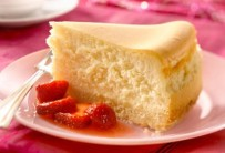 Honey and Fromage Frais Cheesecake