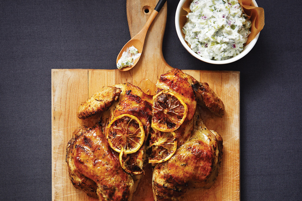 Garlicky Greek Chicken & Zippy Dill Tzatziki