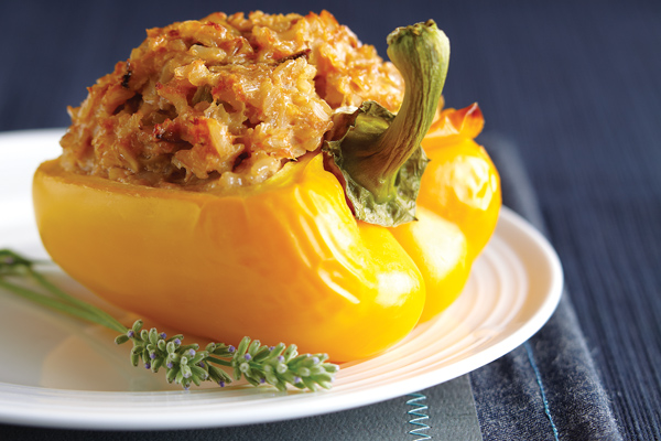 Easy Chicken Stuffed Peppers