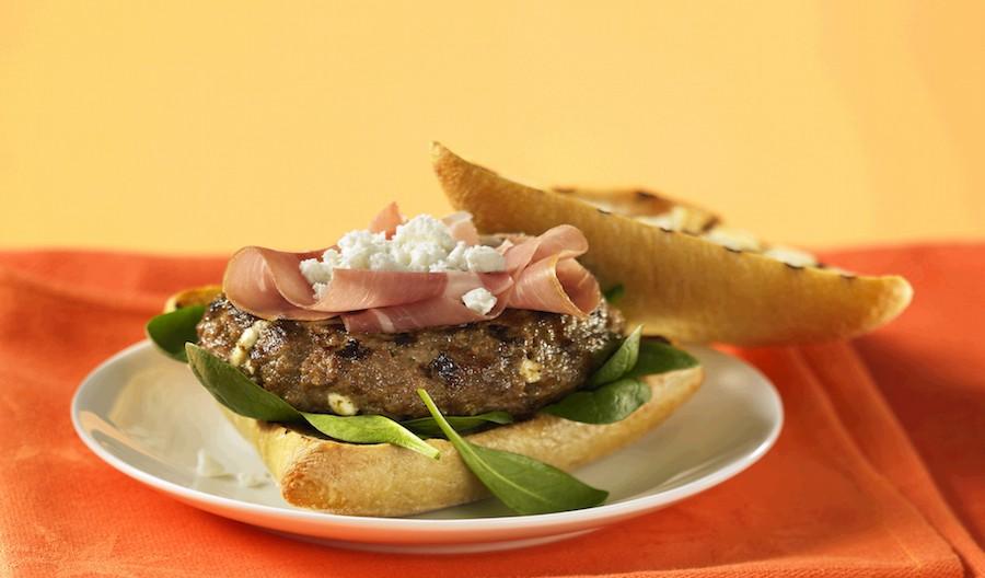 Sirloin Beef Burger Luxe