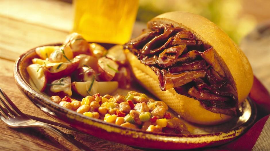 Texas-Style Beef Brisket Sandwiches