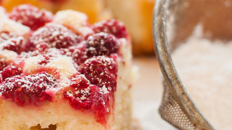 BC Raspberry Cake
