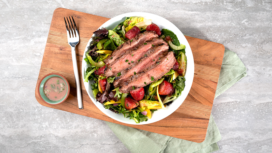 Steak and Berry Salad