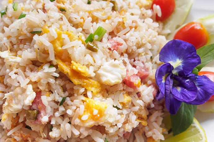 Tropical Pork Fried Rice