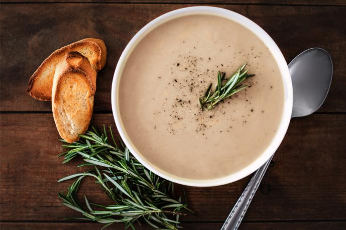 Creamy Bone Marrow Soup