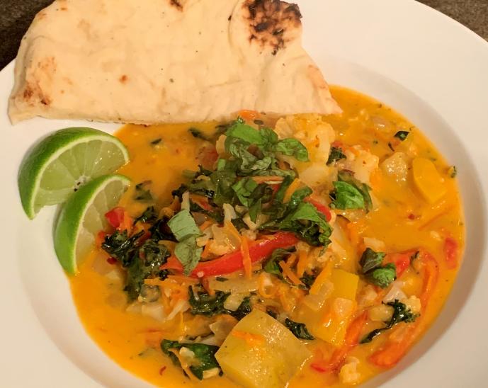 BC Inspired Thai Vegan Curry
